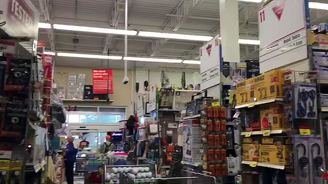 Tour of the smallest Canadian Tire in Canada